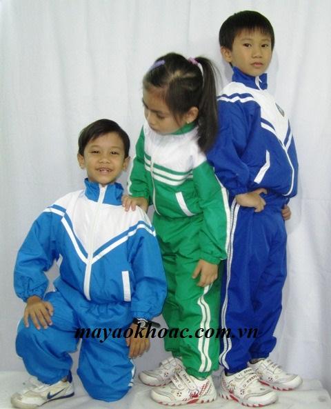 Aó khoác áo gió học sinhTP04